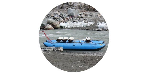 fox glacier river raft