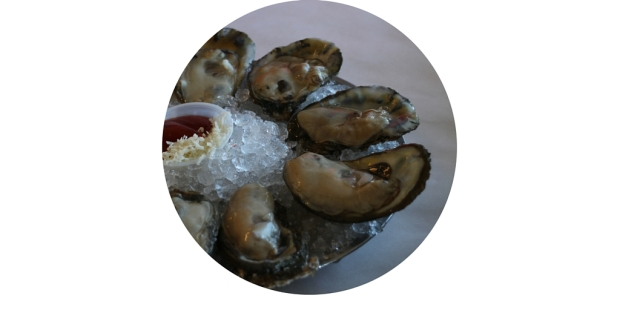 Oysters at Eagle Cafe, Pier 39, San Francisco