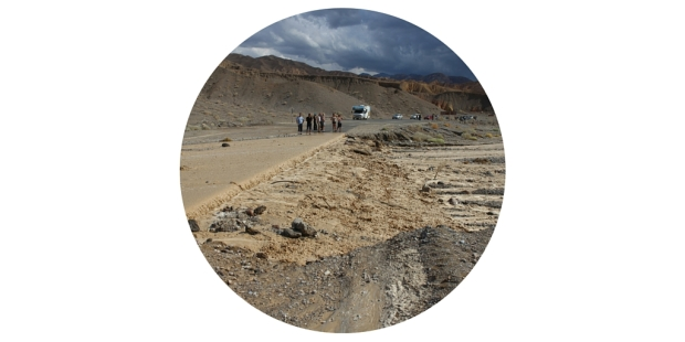 Death Valley floods