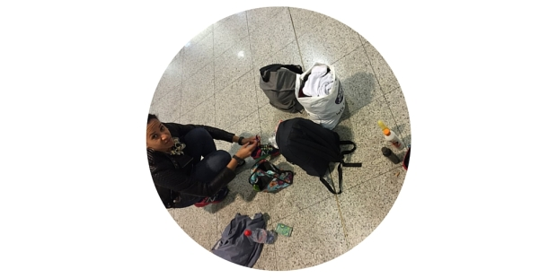 Packing in Airport