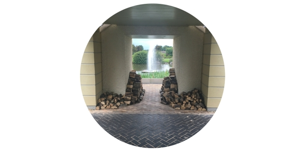 ribby hall spa hotel entrance feature